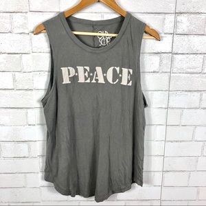 NEW Chaser Peace Army Tank Top